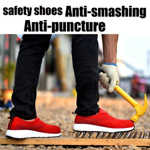 Breathable Work Shoes Spring Safety Sneaker Apparel > Male > Shoes > Work Shoes Oak Bay Shoes