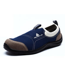Load image into Gallery viewer, Breathable Work Shoes Apparel > Male > Shoes > Work Shoes Oak Bay Shoes Blue 6