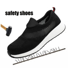 Load image into Gallery viewer, Breathable Work Shoes Spring Safety Sneaker Apparel > Male > Shoes > Work Shoes Oak Bay Shoes