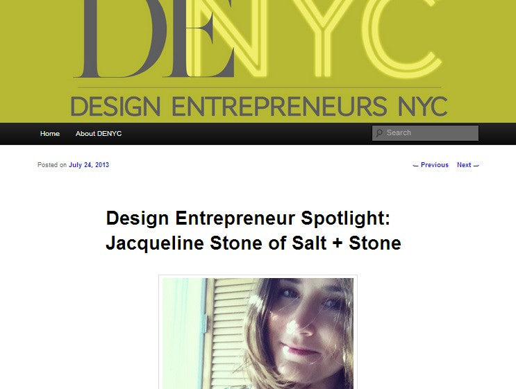 2013 - Design Entrepreneur NYC