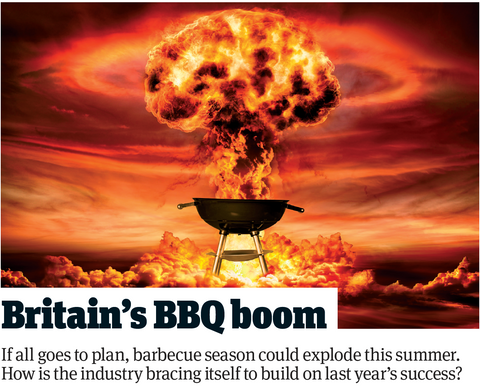 The Grocer Britain's BBQ Boom (copyright, The Grocer March 2021)