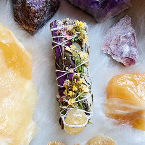 Citrine & Floral Sage Bundle
