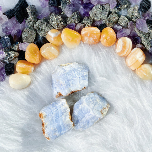 Blue Lace Agate M