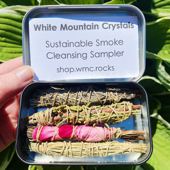 Sustainable Smoke Cleansing Sampler