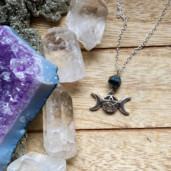 Triple Moon Necklaces
