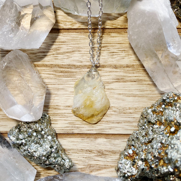 Citrine Necklace 1