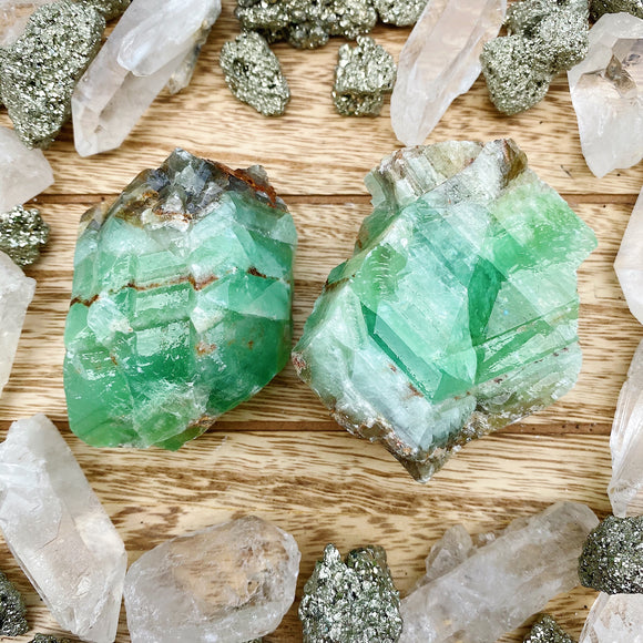 Green Calcite XL