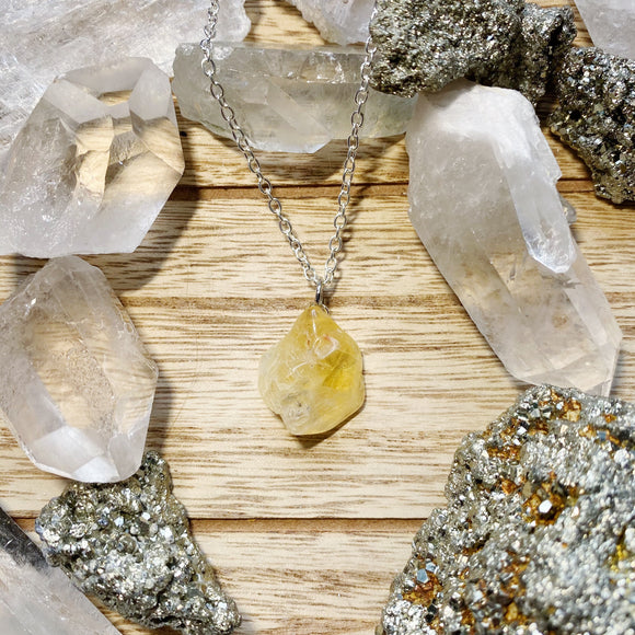 Citrine Necklace 2