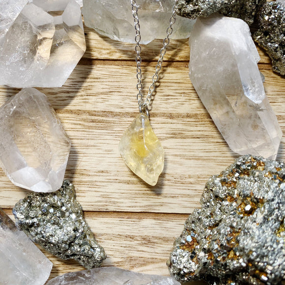 Citrine Necklace 3