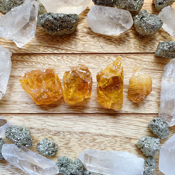 Honey Calcite S