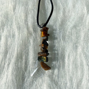 Tigers Eye Chip Necklace!