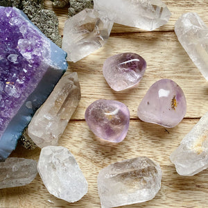Light Amethyst Tumbled Stone