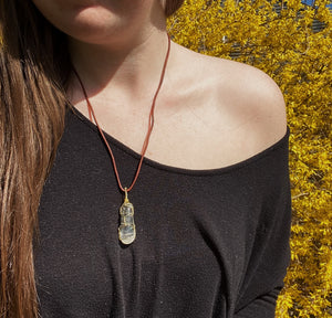 Clear Quartz Necklace 1
