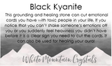 Black Kyanite Stone