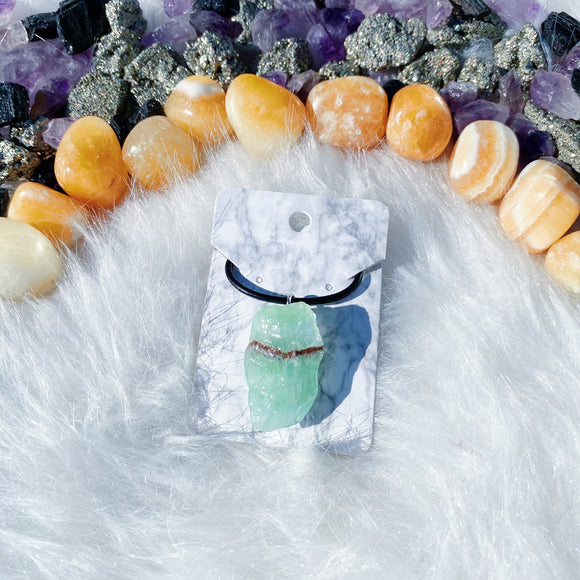 Green Calcite Necklace