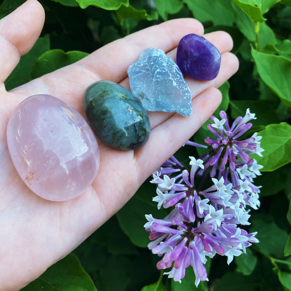 Meditation Crystal Set