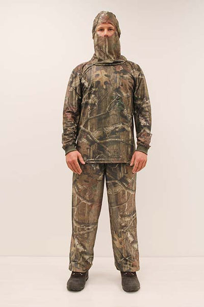 HECS Stealthscreen hunting camo suit male
