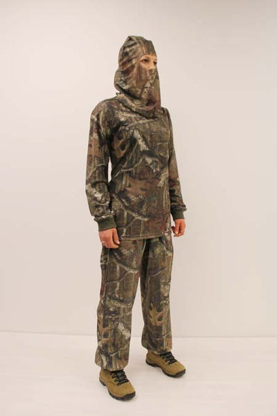 HECS Stealthscreen hunting camo suit female