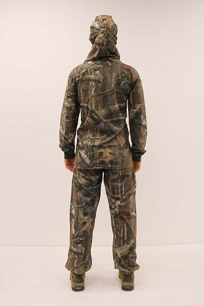 HECS Stealthscreen hunting camo suit female rear view