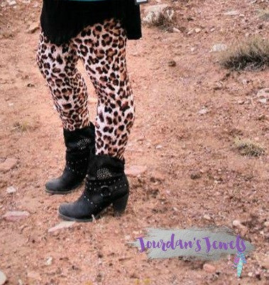 Leopard Print Leggings - Jourdan's Jewels
