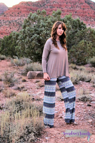 Pretty in Palazzo Pants