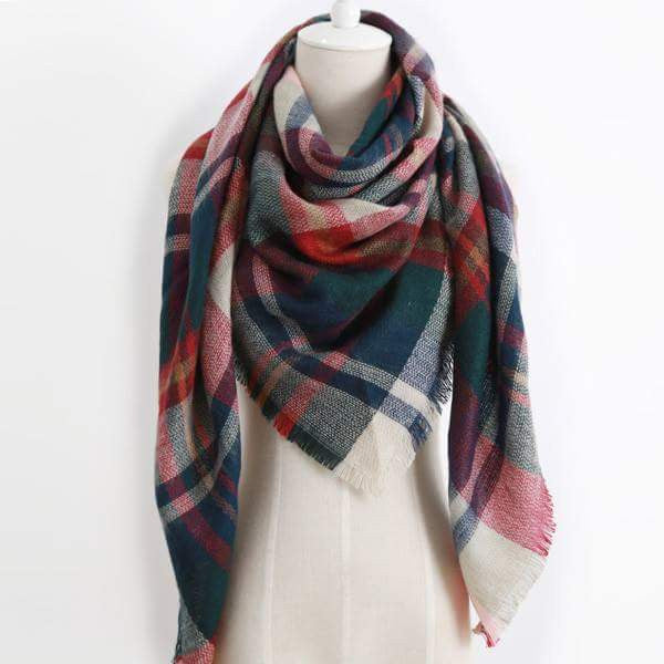 Blanket Scarf - Christmas Tree Lane - Jourdan's Jewels
