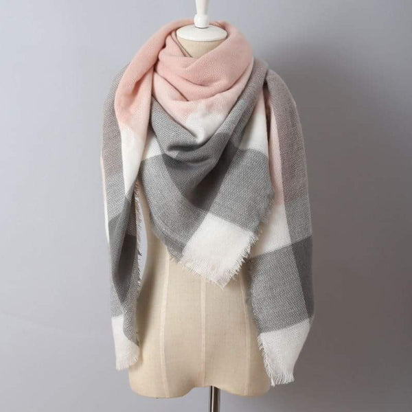 Blanket Scarf - Peach Dream - Jourdan's Jewels