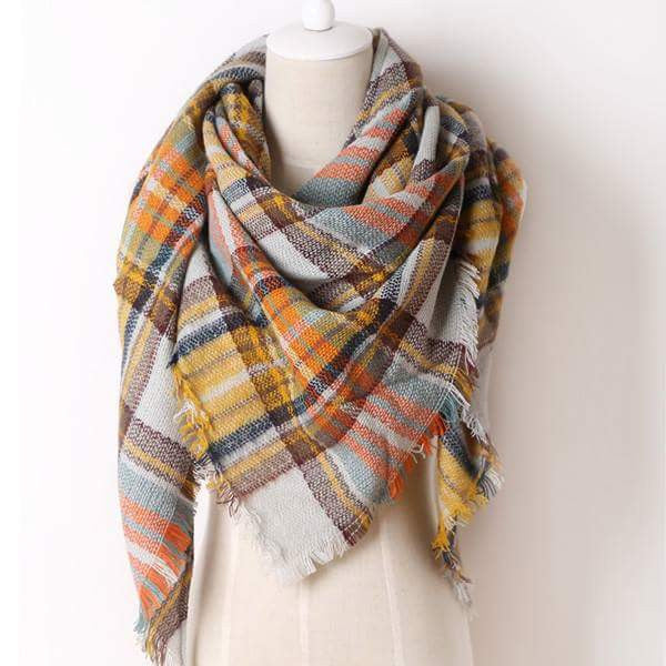 Blanket Scarf - Fall in Love