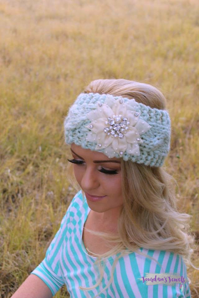 Renee Headwrap - Mint - Jourdan's Jewels