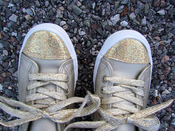 Twinkle Toes Sneakers - Gold