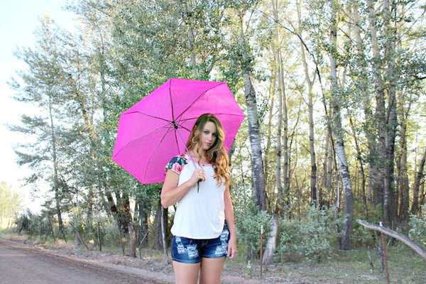 Pink Umbrella - Jourdan's Jewels