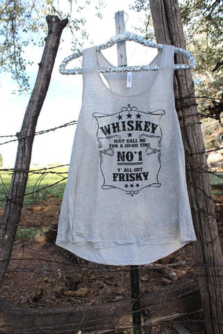 Whiskey Frisky Tank Top