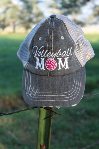 Volleyball Mom Hat - Jourdan's Jewels
