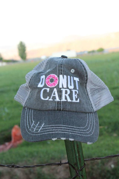 Donut Care Hat - Jourdan's Jewels