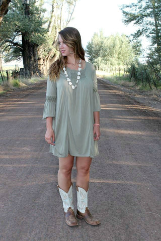 Alice Dress - Seafoam Green