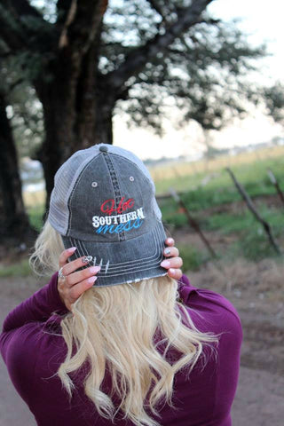 Hot Southern Mess Hat - 3 Colors - Jourdan's Jewels