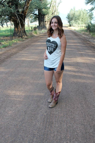 Country Love Tank Top - Jourdan's Jewels
