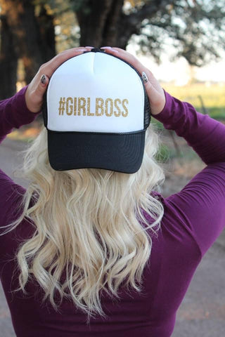 #GIRLBOSS Trucker Hat - 2 Colors - Jourdan's Jewels