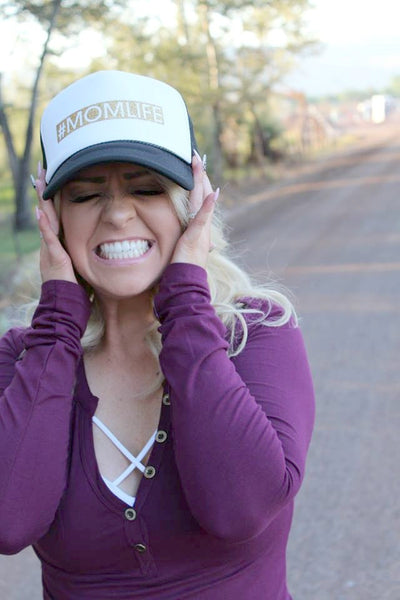 #MOMLIFE Trucker Hat - 2 Colors