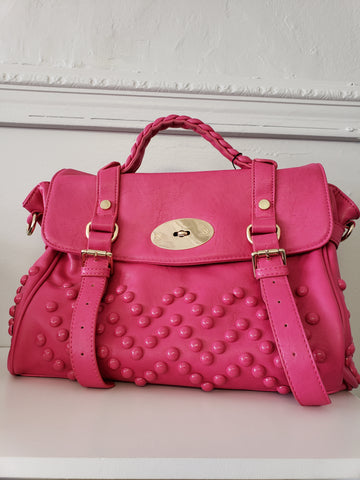 Pink Studded Purse - Jourdan's Jewels