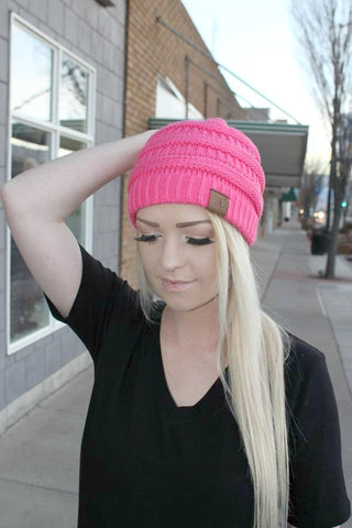 CC Beanie - Candy Pink - Jourdan's Jewels
