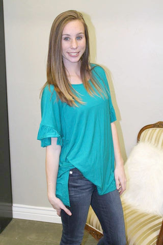 Bonnie Top - Teal - MEDIUM - Jourdan's Jewels