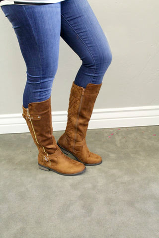 Manny Boots - Tan - Size 5.5 & 7.5 - Jourdan's Jewels