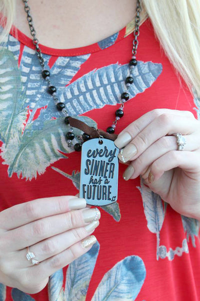 Saints and Sinners Necklace - 3 Colors! - Jourdan's Jewels