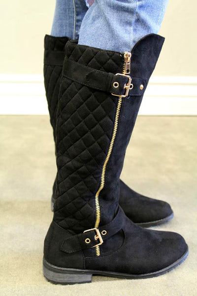Manny Boots - Black - Jourdan's Jewels