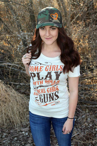 Real Girls Play with Guns Tee - Jourdan's Jewels