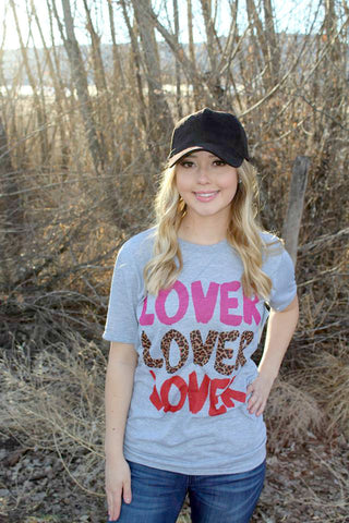 Lover x3 Tee - Jourdan's Jewels