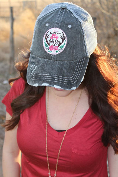 Stay Wild Hat - Jourdan's Jewels
