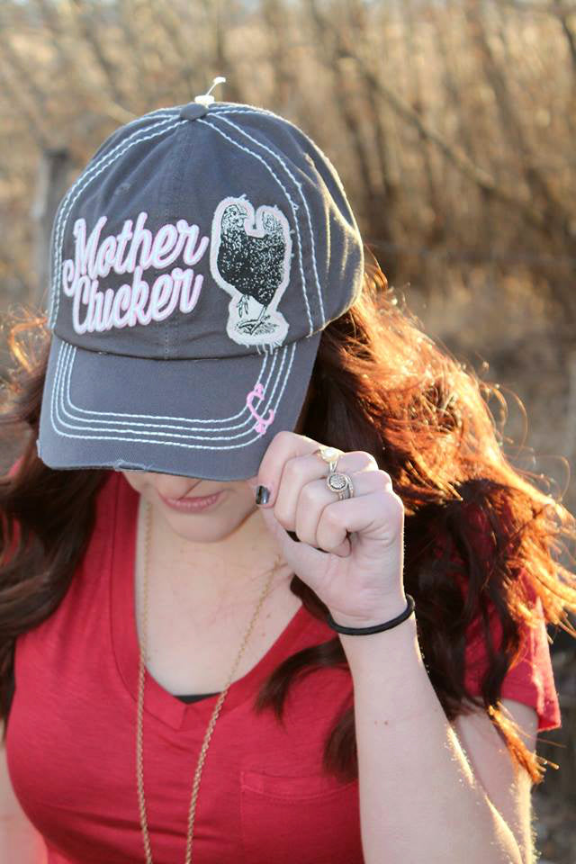 Mother Clucker Hats - Several Colors
