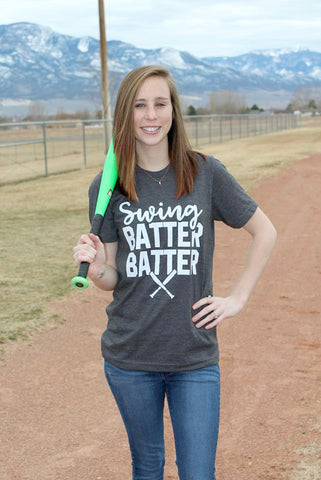 Swing Batter, Batter Tee - SMALL - Jourdan's Jewels